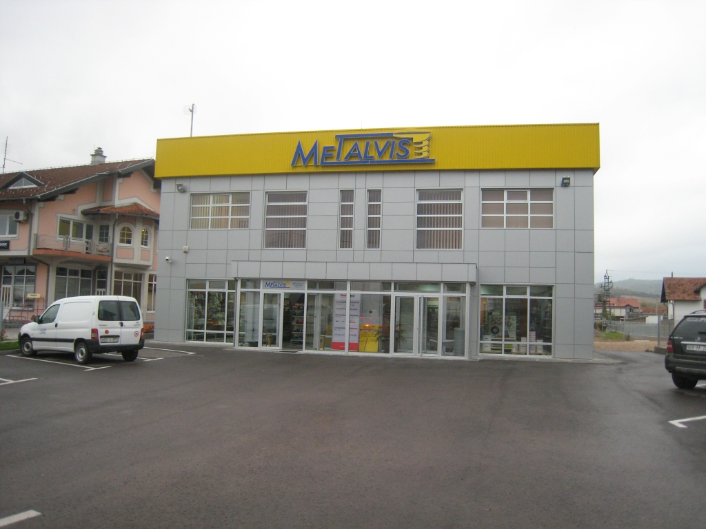 "Administrative building of company ""Metalvis"" in Derventa"