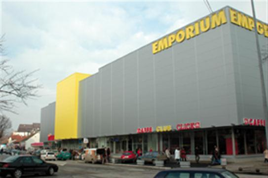 "Trade center ""Emporium"" in Bijeljina"