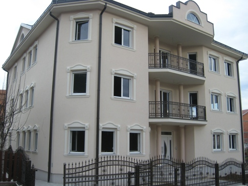 "Villa with ""AluSkin"" windows in white color-Brcko"