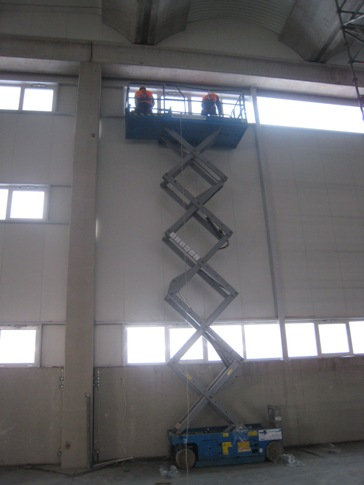 "Mounting of doors and windows on automobiles factory ""Fiat""- Kragujevac"